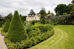 Aberglasneyhuis en Tuinen Royalty-vrije Stock Foto