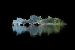 Abertura da caverna, Tam Coc, Ninh Binh foto de stock