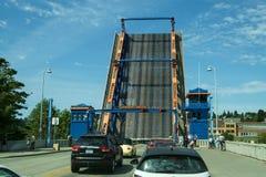 Abertura da ponte de Fremont Imagens de Stock Royalty Free