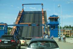 Abertura da ponte de Fremont Fotos de Stock Royalty Free