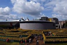Abertura de la nueva entrada Hall Van Gogh Museum Foto de archivo