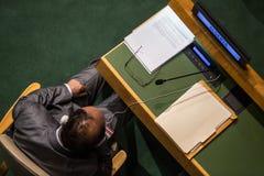 Abertura de la 70.a sesión de la Asamblea General de la O.N.U Foto de archivo libre de regalías