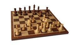 Abertura del ajedrez Barry Attack fotos de archivo