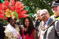 Abertura del carnaval Foto de archivo libre de regalías