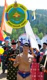Abertura del convenio de los Mongolians del mundo Fotos de archivo