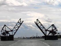 Abertura del puente Fotos de archivo