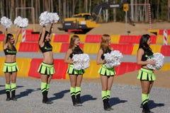 Abertura do campeonato das habilidades profissionais de trabalhadores da estrada Foto de Stock Royalty Free