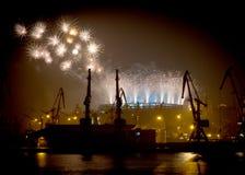 Abertura do estádio de Odessa imagens de stock royalty free