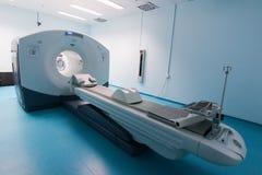 Abertura oficial del primer escáner de la proyección de imagen PET-CT del CT fotografía de archivo