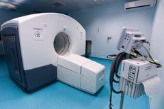 Abertura oficial del primer escáner de la proyección de imagen PET-CT del CT foto de archivo libre de regalías