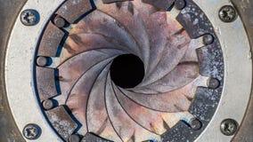 Abertura oxidada do diafragma Imagem de Stock Royalty Free