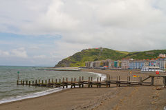 Aberystwth beach Stock Image
