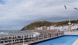 Aberystwyth Royaltyfri Fotografi