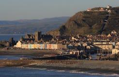 Aberystwyth-Ansicht Stockfotos