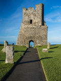 Aberystwyth Castle, Wales Royalty Free Stock Photos