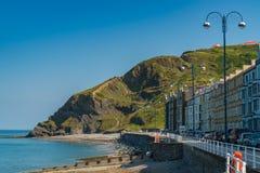 Aberystwyth Ceredigion, Dyfed, Wales, UK Fotografering för Bildbyråer
