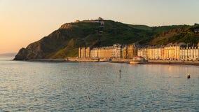 Aberystwyth Ceredigion, Dyfed, Wales, UK Royaltyfri Foto