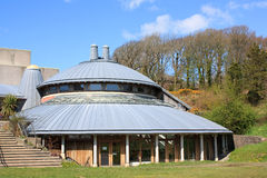 Aberystwyth-Hochschulkunstmitte Lizenzfreie Stockfotos