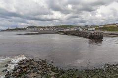 Aberystwyth södra strand Arkivfoton