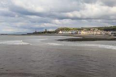 Aberystwyth södra strand Royaltyfri Foto