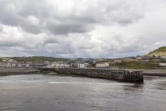 Aberystwyth södra strand Royaltyfria Foton