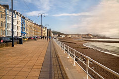 Aberystwyth Sea Front Royalty Free Stock Photos