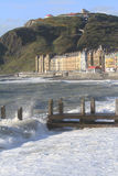 Aberystwyth seafront Royalty Free Stock Images
