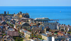 Aberystwyth sjösidastad Arkivbilder