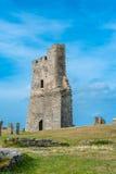 Aberystwyth slott Arkivbilder