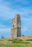 Aberystwyth slott Royaltyfri Foto