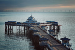 Aberystwyth Victorian Pier Stock Photography