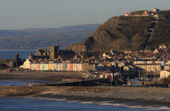 Aberystwyth view Stock Photos