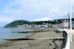 Aberystwyth Wales Royaltyfri Fotografi