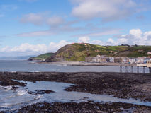 Aberystwyth Wales Royaltyfri Bild