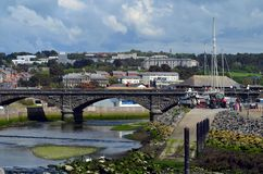 Aberystwyth- Wales het UK royalty-vrije stock afbeelding