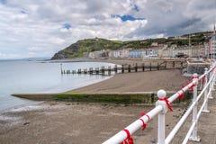 Aberystwyth Wales UK Arkivbilder