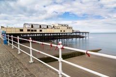 Aberystwyth Wales UK Royaltyfri Foto