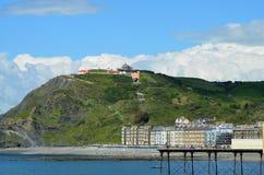Aberystwyth Wales UK Arkivfoto
