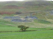 Aberystwyth wzgórza fotografia royalty free