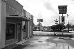 Abes stång-B-q, Mississippi Arkivbilder