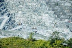 Abestos mine Royalty Free Stock Photo