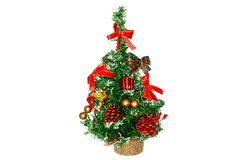 Abete per le feste di Natale Immagine Stock Libera da Diritti