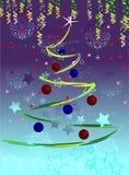 Abeto de la Navidad Imágenes de archivo libres de regalías