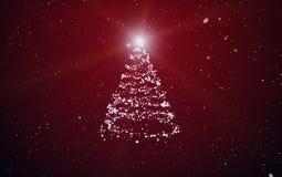 Abeto de la Navidad Fotos de archivo libres de regalías