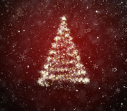 Abeto de la Navidad Foto de archivo libre de regalías