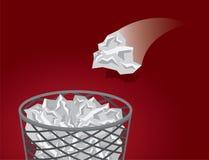 Abfall-Abfall-Wurf Lizenzfreies Stockfoto