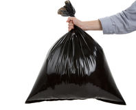 Abfall-Beutel Stockfotografie