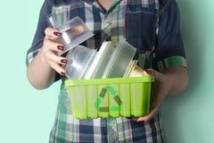 Abfall, der concept-2 aufbereitet Stockbild