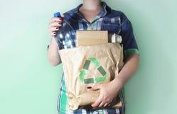 Abfall, der Konzept aufbereitet Lizenzfreies Stockfoto