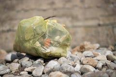 Abfall in der Natur Lizenzfreie Stockbilder